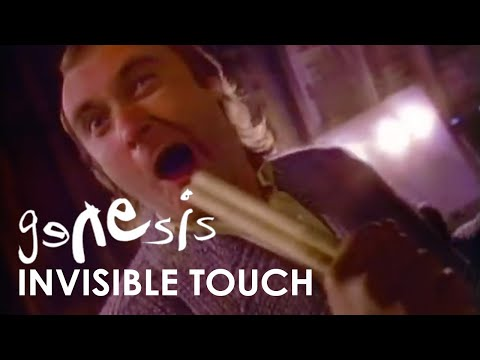 Genesis - Invisible Touch (Official Music Video)