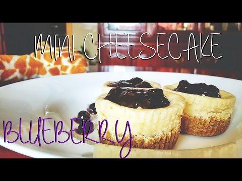 ¡MINI CHEESECAKE BLUEBERRY! | YummiCupcakes