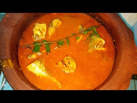 How To Make The Fish Curry With Mango Very Tasty in Tamil  /சுவையான மாங்காய் மீன் குழம்பு /