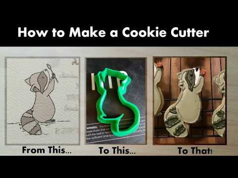 How to Make a Cookie Cutter (3D printed)