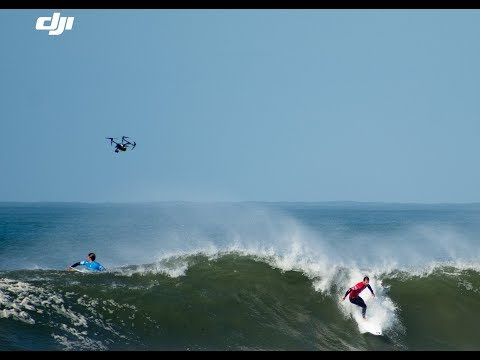 DJI at World Surf League 2017 in Portugal