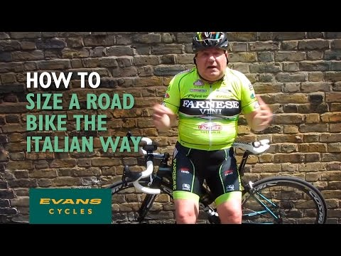 How to size a road bike - the Italian way