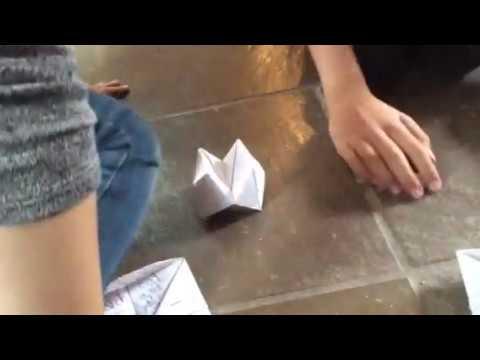Rectangular fortune teller