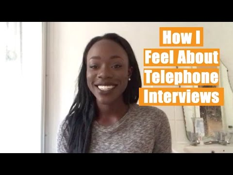 Mimi ep. 6 - How I Feel About Telephone Interviews | The Great Grad Job Hunt