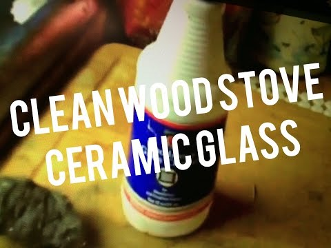 How to Clean Wood Stove Door - Imperial Glass & Fireplace Cleaner