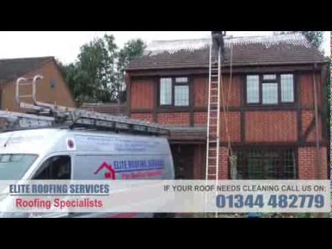 Roof Cleaning & Moss Removal from Elite Roofing Services