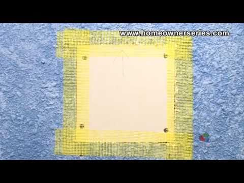 How to Fix a Wall - Lath Strip Patch - Drywall Repair - Part 1 of 2
