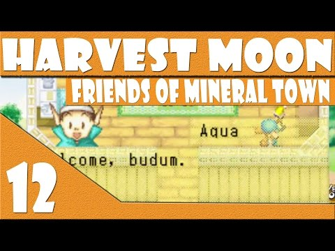 Episode 12   Becoming Friends with a Harvest Sprite   Harvest Moon Friends of Mineral Town