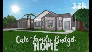 roblox bloxburg cute family budget home