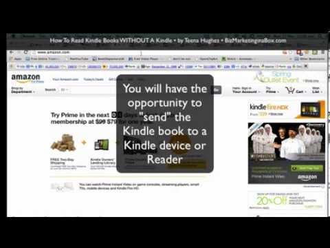 How to read Kindle books without a Kindle by Teena Hughes, BizMarketinginaBox.com