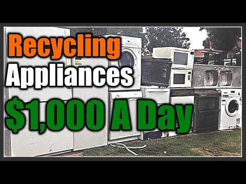 Recycling Appliances for $1000 A Day | THE HANDYMAN |