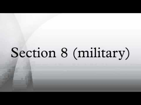 Section 8 (military)