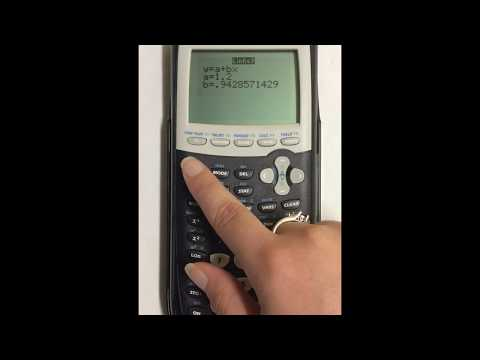 Adding Correlation Coefficient to LinReg in TI 84 Graphing Calculator