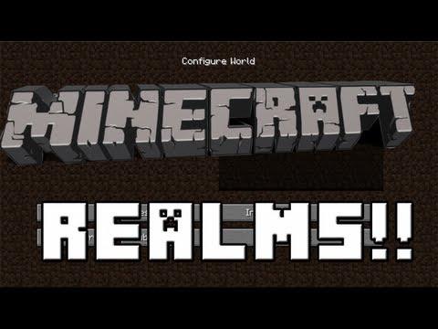 Snapshot 13w09a --Minecraft Realms! New Hidden Feature!
