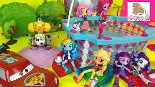 Download Май Литл Пони Мультики с Игрушками Эквестрия Герлз Мини Куклы Вечеринка в Бассейне от Барби Video