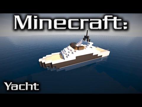 Minecraft: Small Yacht Tutorial 4