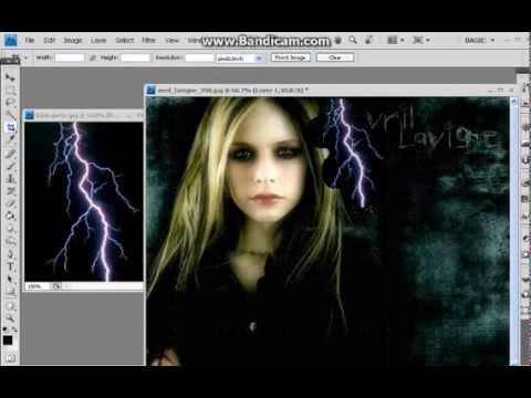 cara membuat efek petir dengan photoshop