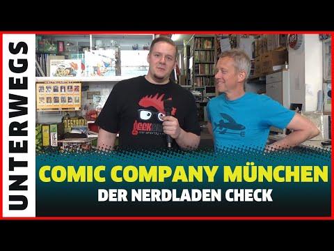 Der Nerdladen Check - Comic Company München Zu Besuch im Comicbuch Laden