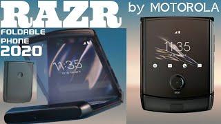 2020 Motorola RAZR foldable phone with android - folding phone #motorola #razr - music - SCREENSHOTZ