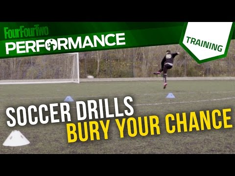 Soccer shooting drill   How to bury every chance