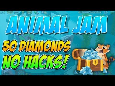 How to get 50 free diamonds! - Animal Jam (2016)