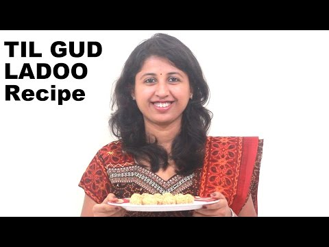 Til Ladoo Recipe, Til Gud Ladoo, Sesame Ladoo with Jaggery