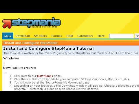 How-To Install Stepmania
