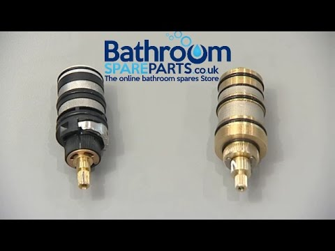 How to Change a Concealed shower valve (polymer cartridge) - One way flow valve