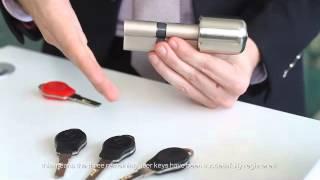 Digital Anti-theft Lock Cylinder Operation Video