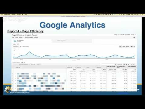 Top 5 Google Analytics Reports to Run Your Online Marketing: A BizzyWebinar