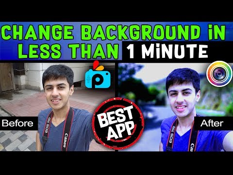 Photo Editing || Change Background + HDR Effect || Android App || Better than PicsArt