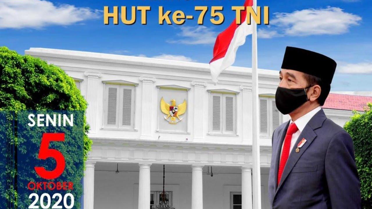 LIVE: Peringatan ke-75 HUT TNI Tahun 2020, Istana Negara, 5 Oktober 2020