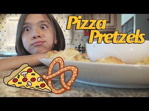 PIZZA PRETZEL BITES EXPERIMENT!!! Cooking with Jillian!