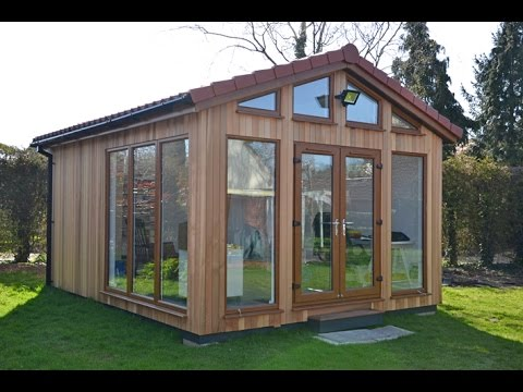Garden Lodge Art Studio Built in Cambridgeshire