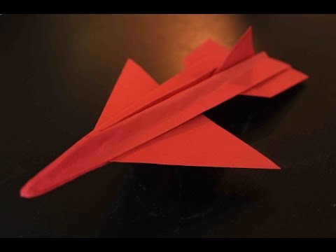How to make a great paper plane in 5 minutes