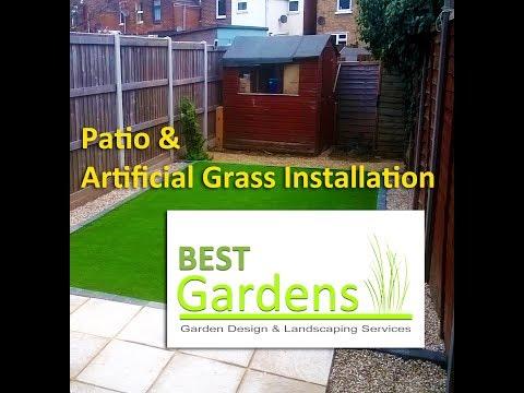 Patio & Artificial Grass Installation