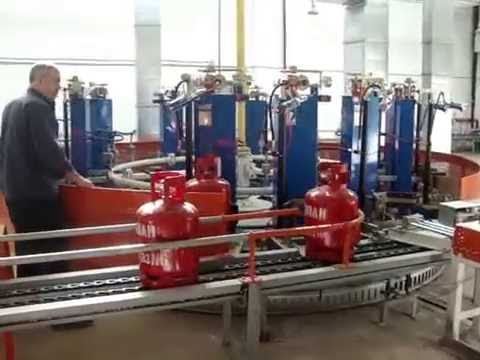LPG Cylinders Filling Plant