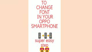 Oppo a83 other way to change fonts - PakVim net HD Vdieos Portal