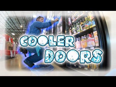 Window Cleaning - Cooler Doors