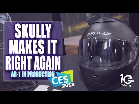 Skully AR Helmets Makes it Right Again With New Ownership
