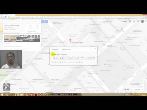 Google maps create link to location short URL tutorial