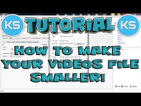How To Make Your Video File Size Smaller! Without Quality Loss