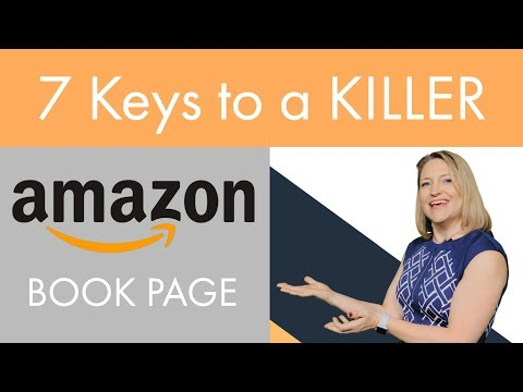 Optimize Your Amazon Book Page: 7 Tips