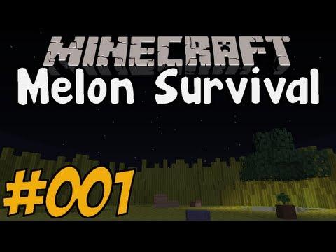 MELON SURVIVAL - Minecraft Map #001