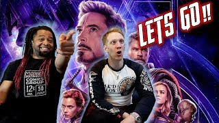 Download Marvel Studios' Avengers: Endgame - Official Trailer Reaction & Review!!! Video