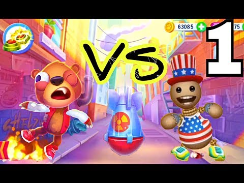 Kick the Buddy VS  Despicable Bear. Gameplay Walkthrough Part 1- All Stuff . Explosives  (iOS)