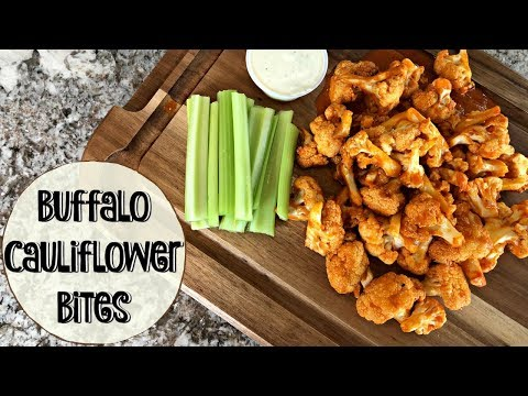BUFFALO CAULIFLOWER BITES :: GOWISE AIR FRYER :: COOK WITH ME