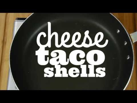Cheese Taco Shell - Between The Eats - Cooking Show