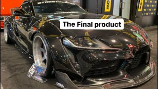 Building The StreetHunter Supra -Final Assembly & Sema, Official reveal , HyperDrive Reunion & more