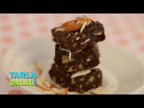 Frozen Brownies by Tarla Dalal